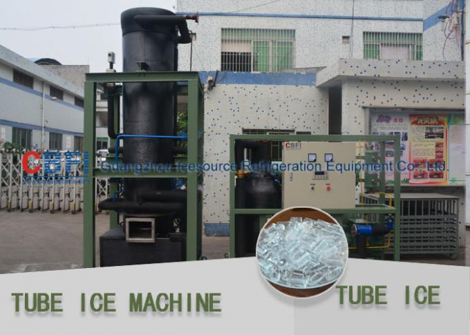 High Efficiency Tube Ice Maker / Ice Making Machines For 30 mm 50 mm Ice  Length