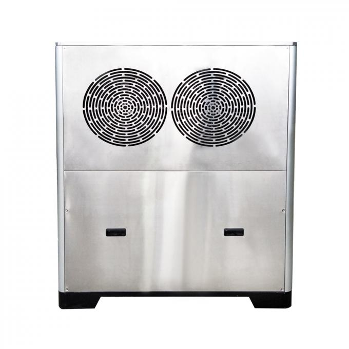 304 Stainless Steel Easy Control 1 ton Edible Commercial Ice Machine