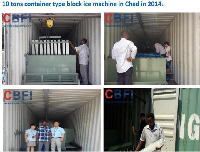 1 ton to 5 tons Ice Block  Machine Africa Market Popular 5 kg 10 kg Hot Sale