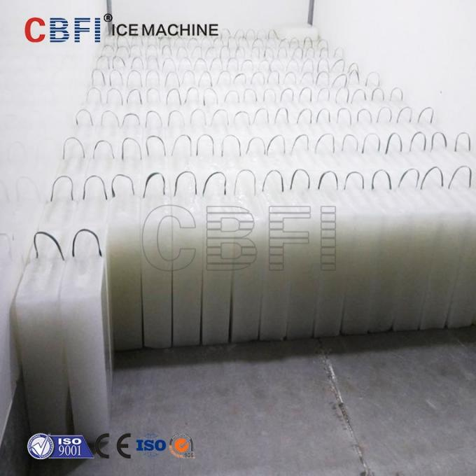 200 Pcs 25 Kg Ice Block Machine With Stainless Ice Mold 380V / 50Hz / 3 Phase