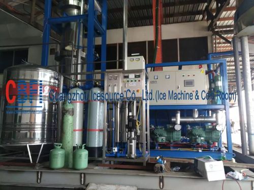 china latest news about 20 ton Tube ice machine Installation in Malaysia