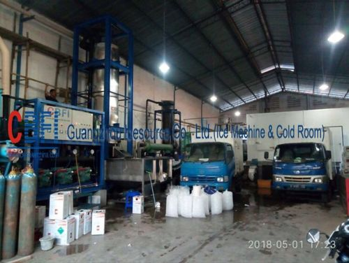 china latest news about 30 tons tube ice machine in Indonesia