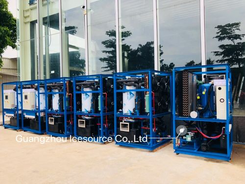 china latest news about 8 pieces 1 tons Single Phase tube ice machine for Philippines client