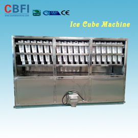 China Stainless Steel 304 Material 2 Tons Ice Cube Making Machine for Selling Cube Ice Business in Saudi Arabia factory