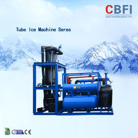 China Easy Operation Edible Ice Tube Machine Germany Bitzer Engine / Water Cooling factory