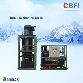 China Siemens PLC Control System Tube Ice Machine With LG Electric Accessories factory