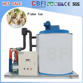 China 500 Kg To 60000 Kg Flake Ice Machine / Automatic Ice Machine For Cooling / Keep Fresh  factory