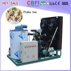 China 1 Ton To 60 Tons Residential Flake Ice Machine With Air Cooled System supplier