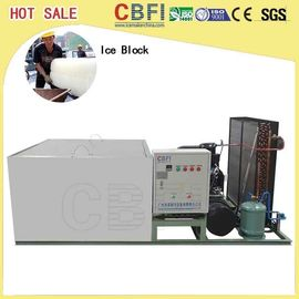 China Energy Saving Industrial Ice Making Machines / Ice Machine Restaurant  factory