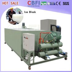 China 74kw.H / Ton Block Ice Machine / Automatic Ice Machine Stainless Steel  factory