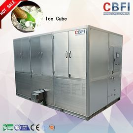 China High Production Big Capacity Ice Cube Machine With LG Electrical Components factory