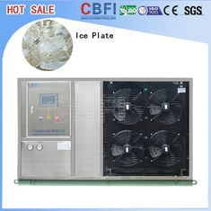 China Fast Food Shops Plate Ice Making Machine , Household Ice Machine Easy Operation factory