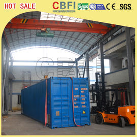 China Second Hand Freezer Shipping Containers Cold Room For Fruits , Meat , Ice Storage factory
