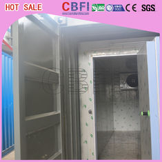 China Prefabricated Insulated Cold Storage Containers / 40 Feet Cold Room Containers factory