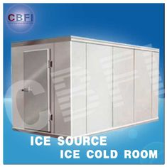 China Concrete Design Moisture Proof Light Cold Room Blast Chiller Freezer With Cement Floor factory