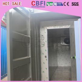 China Fully Automatically Cold Room Containers , Commercial Refrigerated Cargo Containers factory