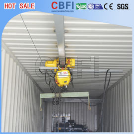 China High Output Commercial Ice Block Maker Machine With 20 Ft 40 Ft Container factory