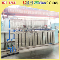 China 5 Kg - 100 Kg High Output Commercial Grade Ice Machine For Freezing Seafood factory