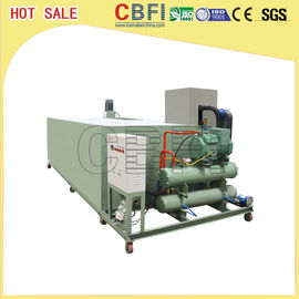 China Stainless Steel Ice Block Machine , Ice Makers Commercial Energy Saving factory