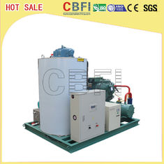 China Water Cooling 15 Tons Ice Machine Flaker For Freezing Meat Vegetables factory