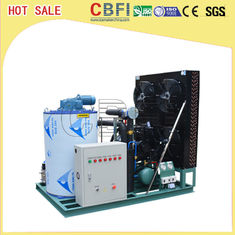 China Coffee Shop Bars Flake Ice Machine / Flake Ice Plant 3 Tons / Day Space Saving factory