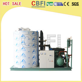 China High Output 10 Tons / Day Flaker Ice Machine / Commercial Ice Making Machine factory