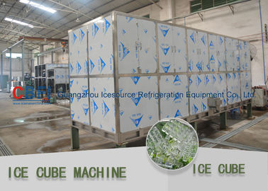China Edible food grade  Ice Cube Maker Machine clean ice and more easy operate factory