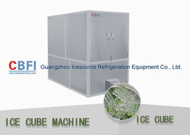 China Bitzer Compressor Ice Making Machines Commercial used 1 Ton 20 Tons Ice Cube Maker factory