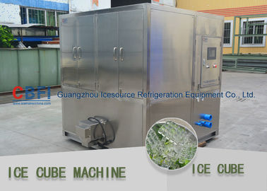 China 1 ton - 20 ton water cooled Ice Cube Machine with Stainless Steel 304 Material factory