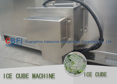 China 1 Ton Per Day Ice Cube Machine with stainless steel 304 material factory