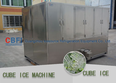 China Full Automatic Ice Cube Maker Machine Cube Ice Maker High Power Consumption factory