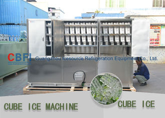 China 3 Ton Per Day Ice Cube Machine / Commercial Grade Ice Machine ISO SGS BV factory