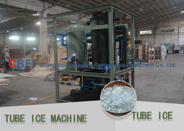 China Crystal , Edible Ice Tube Making Machine With Stainless Steel 304 Evaporator factory