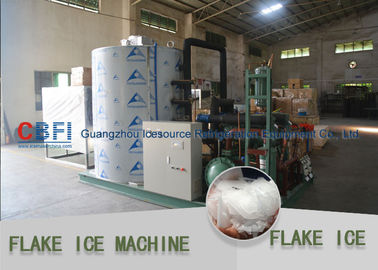 China Dressing Plant Irregular Shape Flake Ice Making Machine 500kg - 30000kg factory