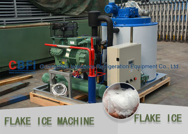 China One Year Warranty Flake Ice Making Machine With Bitzer Compressor 220V / 60HZ / 3P factory