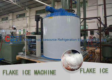 China Germany Siemens PLC Flake Ice Machine 1 Mm - 2 Mm Flake Ice Making Machine factory