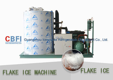 China Fresh Water Flake Ice Making Machine With PLC Touch Screen Easy Operation factory