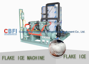 China Pharmaceuticals Industrial Flake Ice Machine 1 mm - 2 mm Flake Ice Making Machine factory