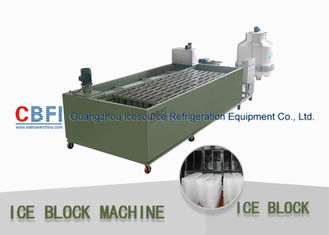 China Stainless Steel 304 Ice Block Machine Germany Bitzer / Tanwai Hanbell Compressor factory