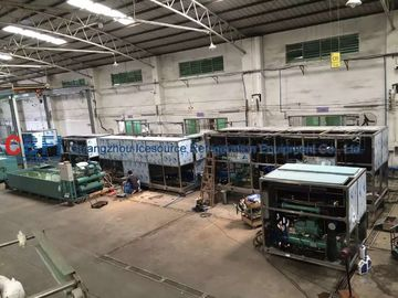 China Large Daily Capacity Commercial Ice Cube Machine Air Cooling / Water Cooling factory
