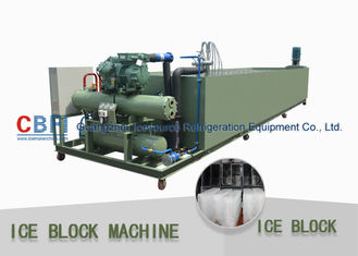 China CBFI Easy Installation Customize Ice Block Machine Air Cooling / Water Cooling factory