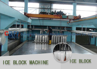 China Safety Freon System Block Ice Maker 50 Ton 100 Ton Denmark Danfoss Expansion Valve factory