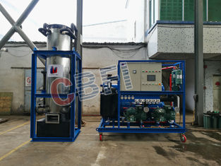 China 10 ton , 20 ton , 30 ton Tube Ice Machine for Large Ice Plant Compact factory
