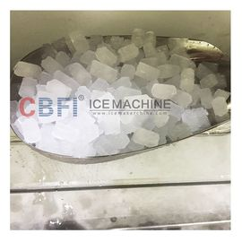 China Commercial Used Easy Control 1-3 ton Crispy Edible Nugget Ice Maker For Home factory