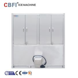 China 304 Stainless Steel Ice Cube Machine / Commercial Ice Maker factory