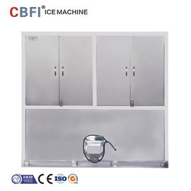 China Air Cooling Ice Cube Maker Machine With Germany Bitzer Compressor factory