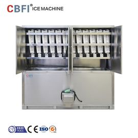 China ETC 3 Tons Commercial Ice Cube Machine / Stand Alone Ice Maker factory