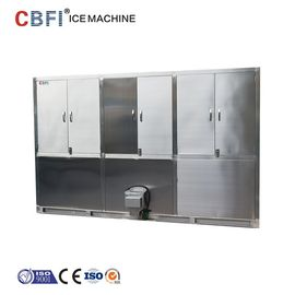 China Water Cooling India Ice Cube Machine / Large Ice Cube Maker supplier