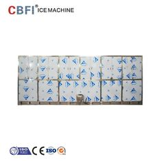 China 22*22*22mm R507 Refrigerant Ice Cube Machine For Indonesia Ice Plant factory
