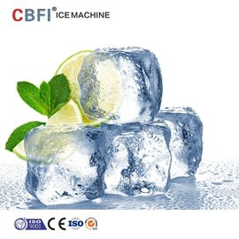 China 10 Tons Commercial Ice Cube Machine With Germany Bitzer ISO factory